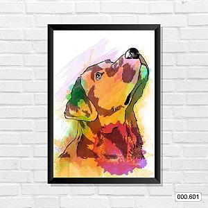 Quadro - Cachorro, Arte 04
