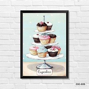 Quadro - Cupcakes