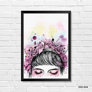 Quadro - Make & Flores
