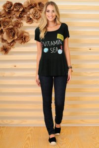 T-SHIRT VITAMIN SEA VERDE