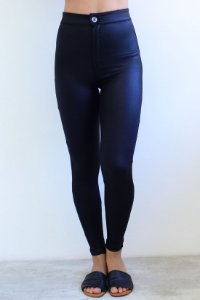 Calça Legging Shine Super Alta