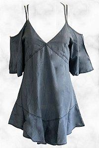 Vestido Ombro Vazado