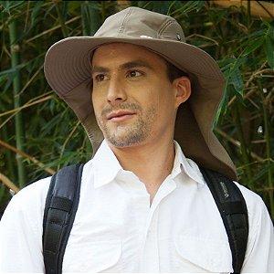 Chapéu com Protetor de Nuca Legionário Adulto