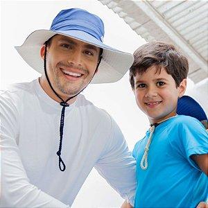 Chapéu com Proteção Solar tipo Australiano Adulto