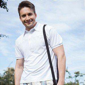 Camiseta Proteção UV Polo Fit Man Manga Curta