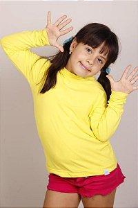 Camiseta Proteção UV Manga Longa Infantil