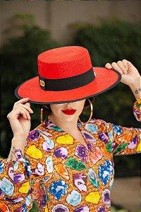 Chapéu de Palha com Proteção Solar Laguna