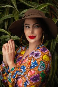 Chapéu com Proteção UV Nefertiti