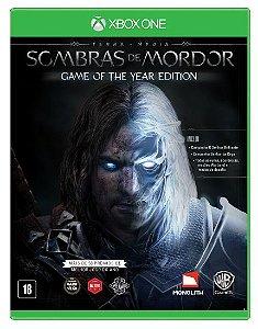 Terra Média - Sombras de Mordor - Xbox One