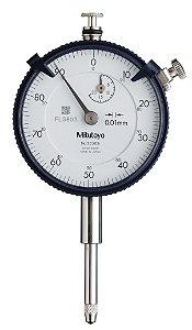 Relógio Comparador Modelo Com Curso Longo Tampa Com Orelha 20mm 0,01mm 2050S