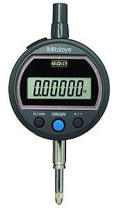 Relógio Comparador Digital ABSOLUTE ID-SS 12,7mm 0,001mm Tampa Com Orelha 543-501