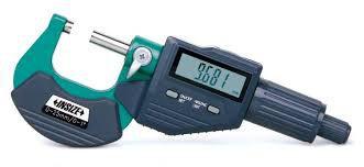 Micrometro Externo Digital C/Saída de Dados 25-50mm Insize 3109-50B