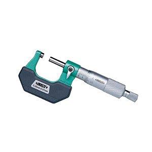 Micrometro Externo com Plaquetas Termo-Isolantes 0,01mm 25-50mm Insize 3202-50A