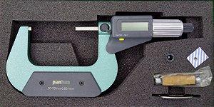 Micrometro Externo Digital 50-75mm / 0,001mm Pantec 13203-730