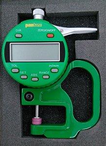Medidor de Espessura com Relógio Digital Capacidade 13mm Pantec 12164-10