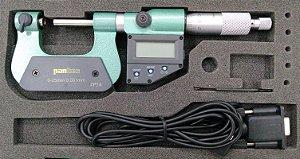 "Micrometro Digital para Med. de Roscas IP54 0-25mm 0,001mm/.00005"" Pantec 13181-25"