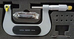 Micrometro Externo p/Roscas 50-75mm/0,01mm Asimeto 132-03-0