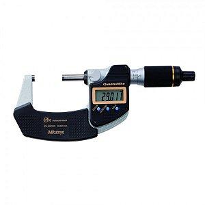Micrômetro Externo Digital QuantuMike 25-50mm 0,001mm IP65 Mitutoyo 293-146-30