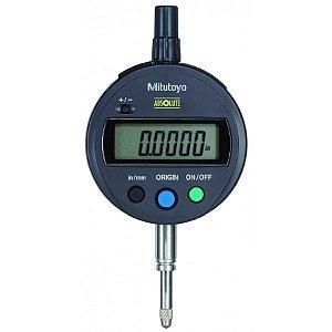 Relógio Comparador Digital ABSOLUTE 12,7mm 0,01mm ID-SX Tampa Lisa Mitutoyo 543-782B