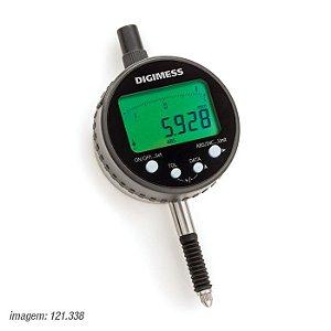 Relógio Comparador Digital 0,001mm 0-12,7mm Proteção IP54 Digimess 121.338