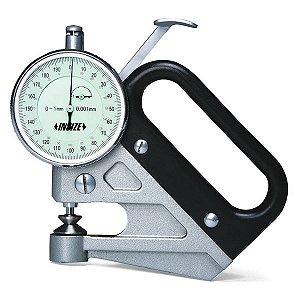 Medidor de Espessura de Precisão 0-1mm/0,001mm Insize 2360-1