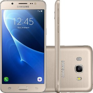 "Smartphone Samsung Galaxy J5 Metal Dual Chip Android 6.0 Tela 5.2"" 16GB 4G Câmera 13MP"