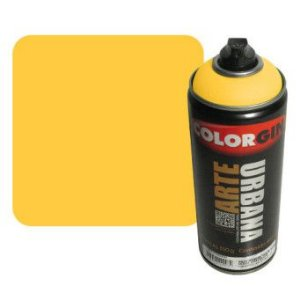 Colorgin Arte Urbana - 915  Amarelo Sol - 400 ml