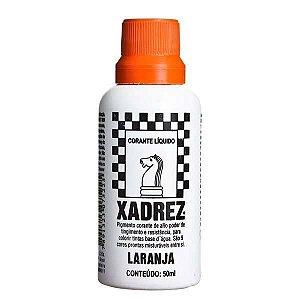 Corante Líquido Xadrez 50ml - LARANJA