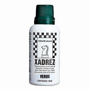 Corante Líquido Xadrez 50ml - VERDE