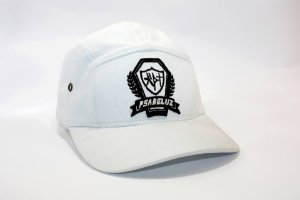 Boné Psadeluz Five Panel - Branco