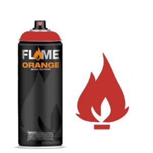 Spray Flame Orange - FO-312 Fire Red