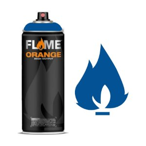 Spray Flame Orange - FO-512 Signal Blue