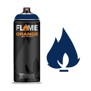 Spray Flame Orange - FO-522 Sapphire Blue