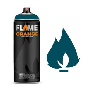 Spray Flame Orange - FO-618 Aqua