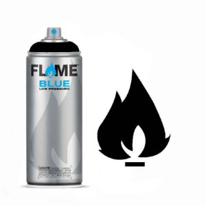 Spray Flame Blue - FB-904 Deep Black