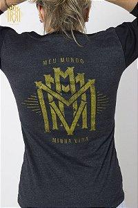 Camiseta 3/4 MMMV Feminina