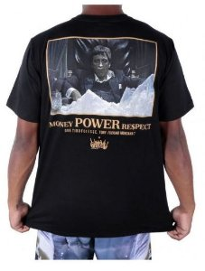 Camiseta Money Power Respect 2