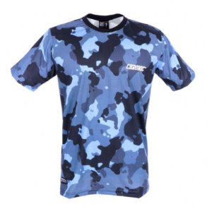 Camiseta Camuflada Black and Blue
