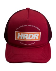 Boné Trucker Harder LOGO Vinho