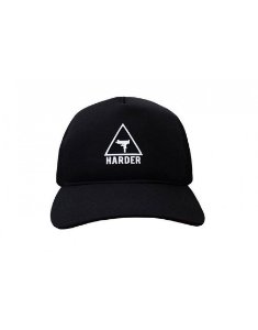 Boné Trucker Harder LOGO Preto