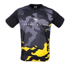Camiseta Camouflage Bar
