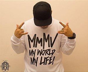 Moletinho My World My Life - Branco