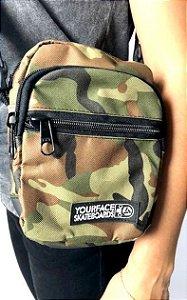 SHOULDER BAG YOURFACE UNISSEX - CAMUFLADO