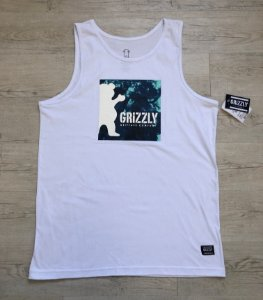 Regata Grizzly Branca Azul
