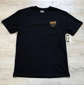 Camiseta DGK Logo Dourado