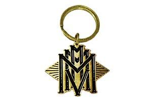 Chaveiro MMMV Dourado