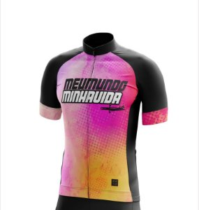 Camisa Bike MMMV - COLORIDA