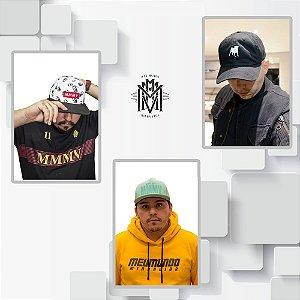 KIT 4 -  TORRESMO MAN + PUG COLEÇÃO 2018 + BONÉ COLEÇÃO 2018 VERDE