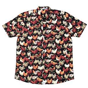 Camisa Galo Preto