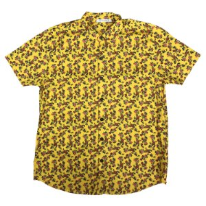 Camisa KAMIZAHIA Yellow Flowered